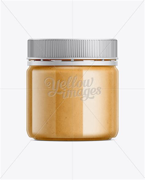 Peanut butter jar stock vectors, clipart and illustrations. Peanut Butter Mockup in Jar Mockups on Yellow Images ...