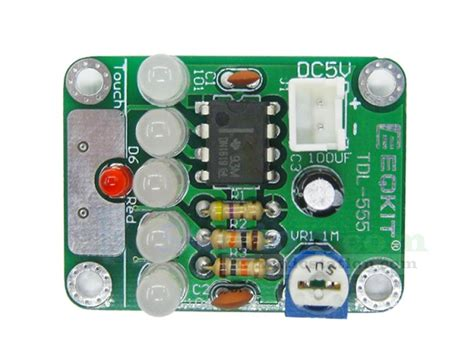 Tdl Touch Delay Switch Led Light Diy Kit Electronics