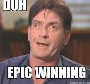 Meme Creator - DUH EPIC WINNING