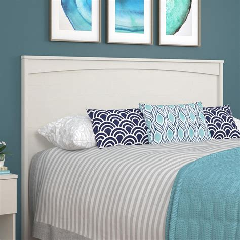 Vintage White Headboard by Crescent Point Size Headboard Vintage White