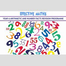 Effective Maths Y6 Arithmetic And Number Facts Revision Programme  Coming Soon