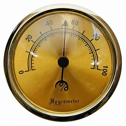 Hygrometer Humidor Analog Glass Humidors Cigar Cigarboulevard
