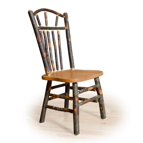 two wagon wheel rustic dining chairs hickory oak or