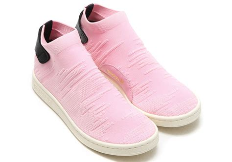 adidas stan smith light pink adidas stan smith sock wonder pink by9250 sneakernews com