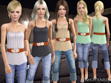 Sims2fanbgu0026#39;s 392 - Teen Casual Outfit