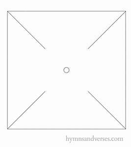 DIY Pinwheel Tutorial and Template - Hymns and Verses