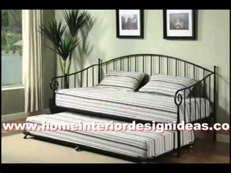 wooden bedroom daybed  trundle ikea sets youtube