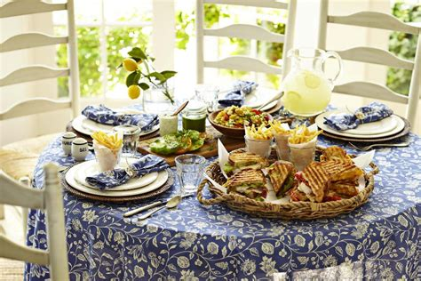 Weekend Entertaining Casual Summer Lunch Williams