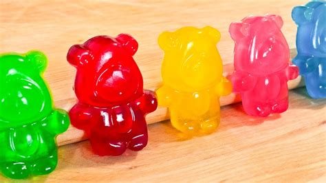 how to make gummy bears how to make gummy bears regular and sour video recipe