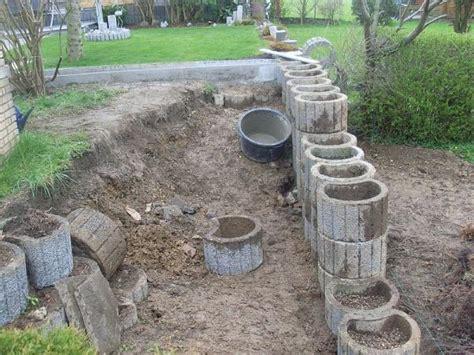 l steine setzen ohne fundament pflanzsteine setzen ohne fundament mischungsverh 228 ltnis