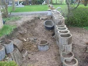 Beton Pflanzkübel Als Mauer : pflanzsteine setzen ohne fundament mischungsverh ltnis zement ~ Udekor.club Haus und Dekorationen