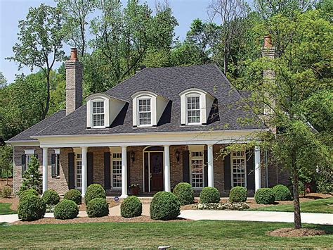 plantation style house country plantation style house plan 17690lv 1st floor