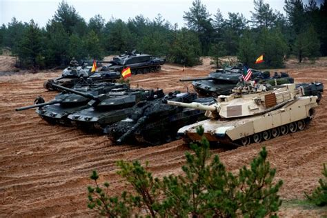 As winter comes, NATO kicks off largest maneuvers since ...