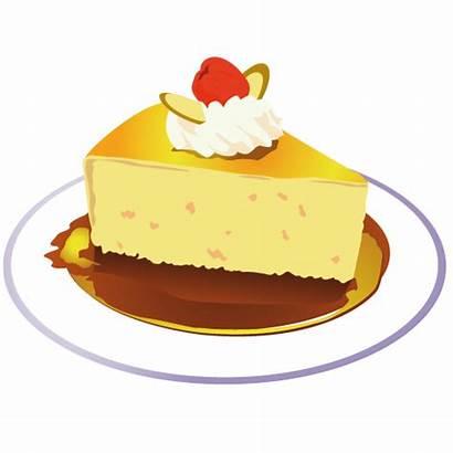 Cake Piece Clip Clipart Icon Birthday Yellow