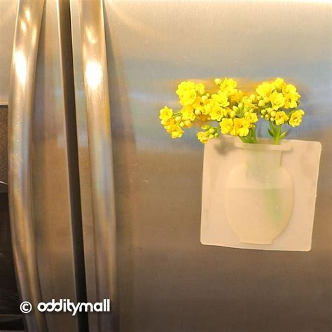 You Place The Flowers In The Vase by Unique Silicone Flower Vase Lets You Put Flowers Anywhere