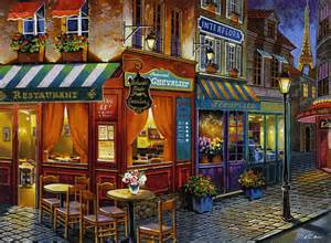 Place In Paris Evening Romantic Nice Cafe hd wallpaper ...
