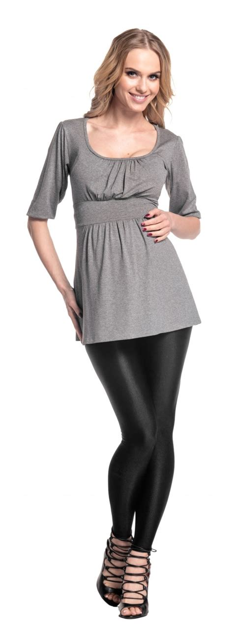 happy mama womens pregnancy maternity stretchy tunic top