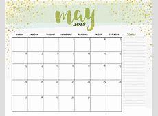 May 2018 Calendar Desktop Year Free Indo Templates
