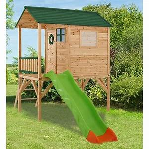 Maisonnette En Bois Sur Pilotis : jeux maisonnette amca ~ Dailycaller-alerts.com Idées de Décoration