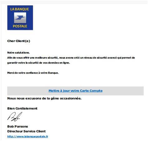 si鑒e banque postale banque postale signaler une fraude un faux site de la banque
