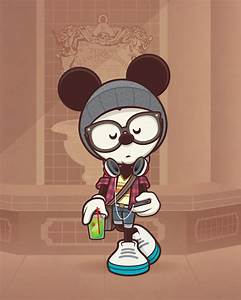 hipster mickey on Tumblr