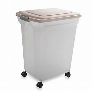 Iris usa airtight mobile pet food container www for Extra large dog food container
