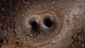 Gravitational Waves and the Sound of Black Holes Colliding ...