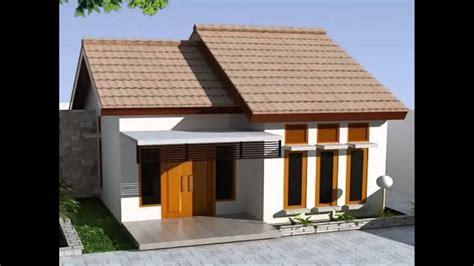 desain rumah minimalis  lantai ukuran  terpopuler