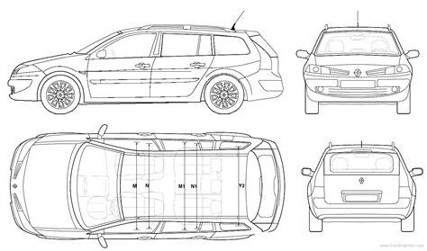 blueprints gt cars gt renault gt renault megane ii break 2006