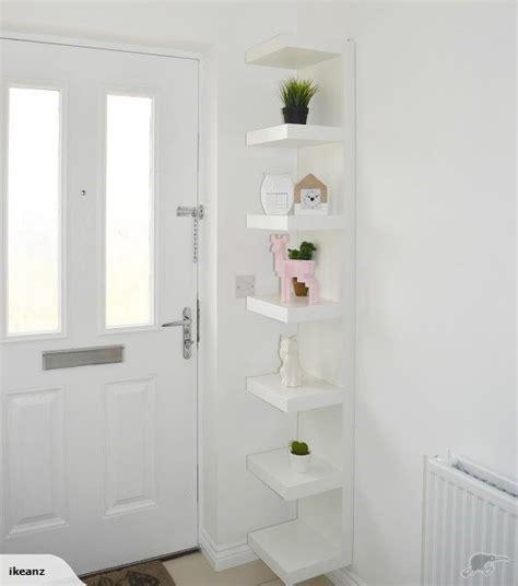 White Wall Shelf Unit ikea lack wall shelf unit white trade me second2 en