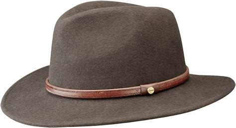 mens fedora hats casual and formal fur felt and wool