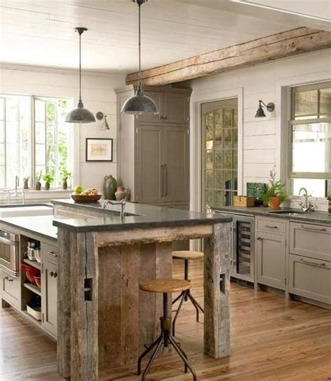 kitchen design rustic modern impressive rustic cabin and cottage interior designs 4553