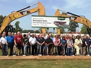 Groundbreaking Ceremony Held for Remington Ammunition ...