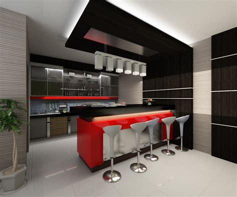 desain minibar  dapur kecil