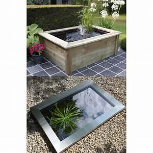 Bassin De Terrasse : bassin de jardin quadra c3 365l ~ Premium-room.com Idées de Décoration