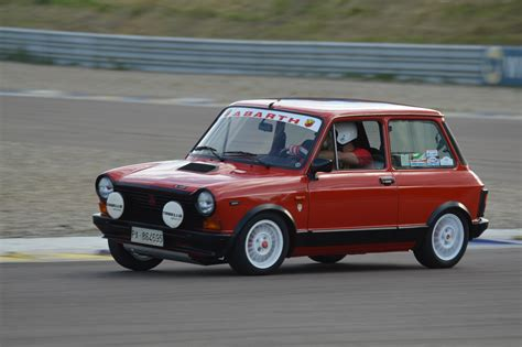 FAST! Autobianchi A112 Abarth: action on track - YouTube
