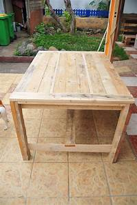 Ana White Farmhouse Table (wooden pallets) - DIY Projects