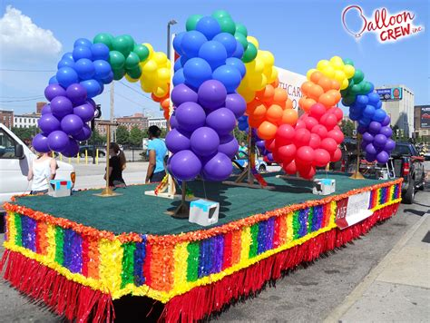 Pride Parade Float Ideas