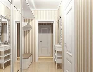 Papier Peint Pour Couloir : papier peint couloir peint ou imprim c est ind modable ~ Melissatoandfro.com Idées de Décoration