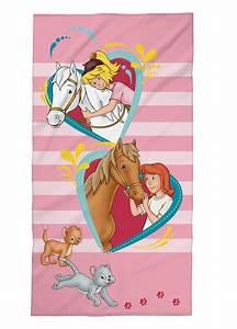 Bibi Und Tina Bettwäsche : bibi und tina wende bettw sche 135x200cm 80x80cm oder strandtuch badetuch ebay ~ Orissabook.com Haus und Dekorationen