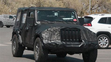 2018 jeep grand wagoneer spy photos 2018 jeep wrangler everything we know