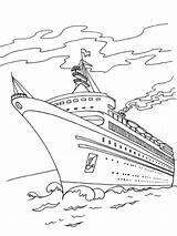 Statek Cruiseschip Kleurplaat Crucero Kolorowanka Leukekleurplaten Wycieczkowy Speedboot 1001coloring Coloringpage Ladnekolorowanki Dibujosparaimprimir Kleur Duikboot sketch template