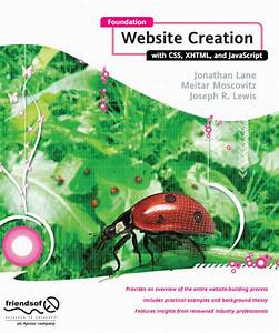 Foundation Website Creation With Css  Xhtml  And
