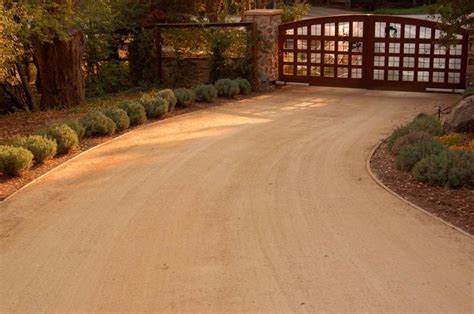 crushed granite driveway pin by jamie taylor on house pinterest