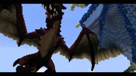 dragons merceron fire  perinthus ice  minecraft youtube