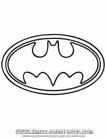 Batman Logo Coloring Pages Printable