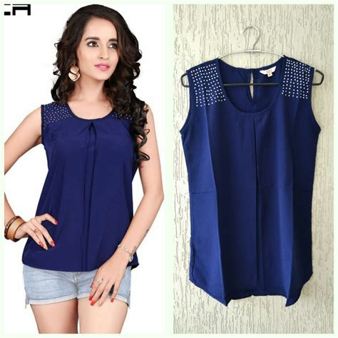 List Manufacturers Of Latest Tops Designs Girls, Buy