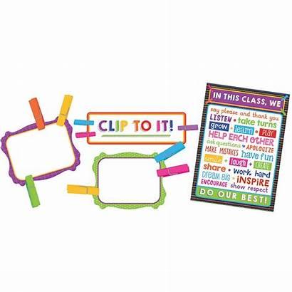 Classroom Chart Board Bulletin Management Clip Dellosa