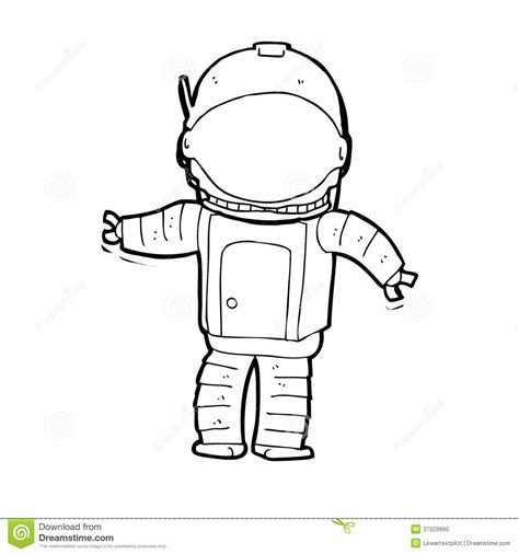 astronaut clipart black and white astronaut stock illustration image of space