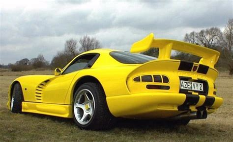 1998 Dodge Viper GTS-R Yellow Rr Qtr - Picture Gallery ...